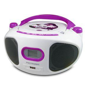 RADIO CD CASSETTE MET 477122 Radio CD MP3 Miss Angel