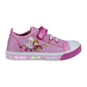 BASKET Baskets LED Chaussures Lumineuse Frozen