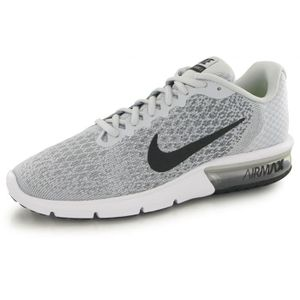 BASKET Nike Air Max Sequent 2 gris, baskets mode homme