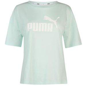 Puma Boyfriend Col Rond T Shirt Manche Courte Femmes