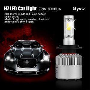 H7 Led leegoal 2pcs H7 LED phares Voiture Ampoules 110W 26000LM 6000K bo/îtier en Aluminium Blanc /& Turbo Refroidissement Phare imperm/éable /à leau Haut Bas Faisceau /& Brouillard l/éger