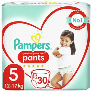 COUCHE PAMPERS Premium Protection Pants Geant T5 X30