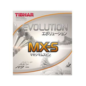 REVETEMENT RAQUETTE Revêtement TIBHAR Evolution MX-S 2,0mm rojo