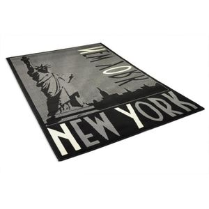 tapis new york achat vente tapis new york pas cher cdiscount. Black Bedroom Furniture Sets. Home Design Ideas