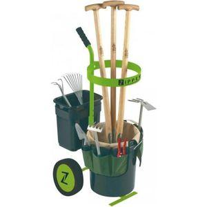 SAC À DÉCHETS CHANTIER Chariot d'outils de jardinage (sans outils inclus)