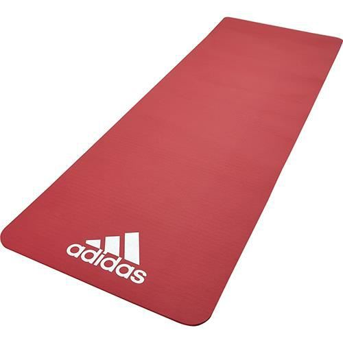 Adidas tapis de fitness 7mm rouge