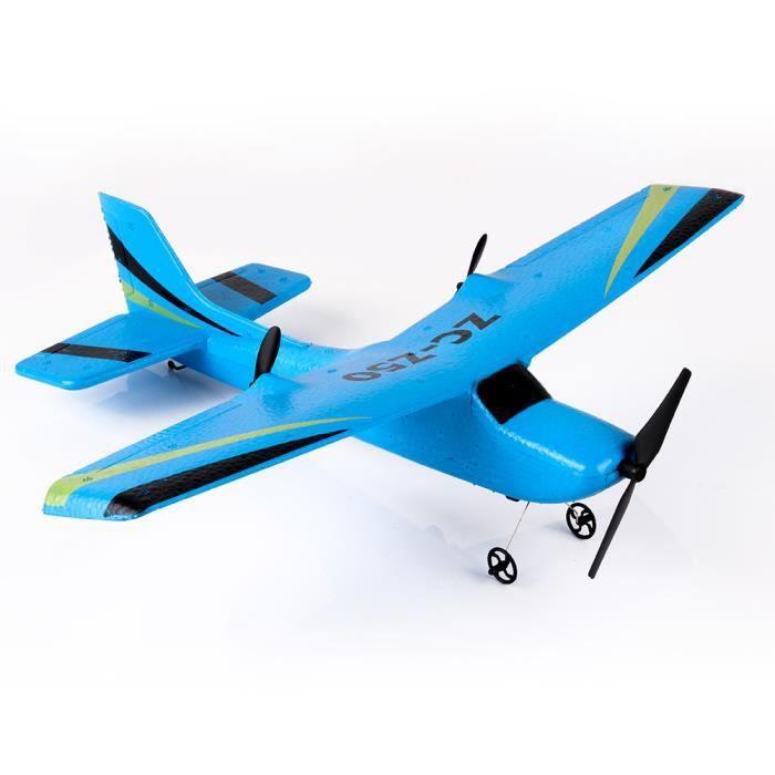 Drone Télécommande RC Hélicoptère Planeur Planeur Avion EPP mousse 2CH 2.4G Jouets LIY71218010BU