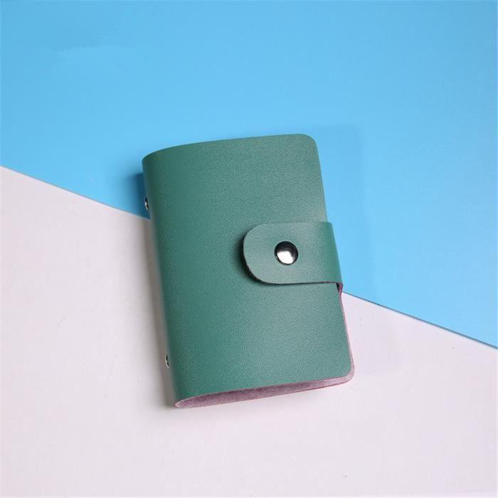 Pochette femme Exquisite porte carte bancaire aluminium qualité supérieure porte monnaie femme de petite taille portefeuille femme