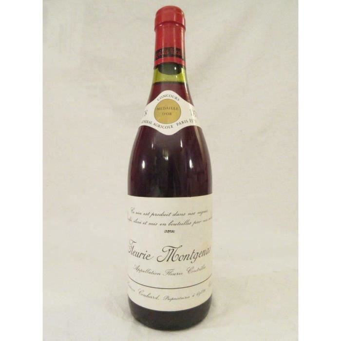 fleurie héritiers couhards montgenas rouge 1978 - beaujolais france