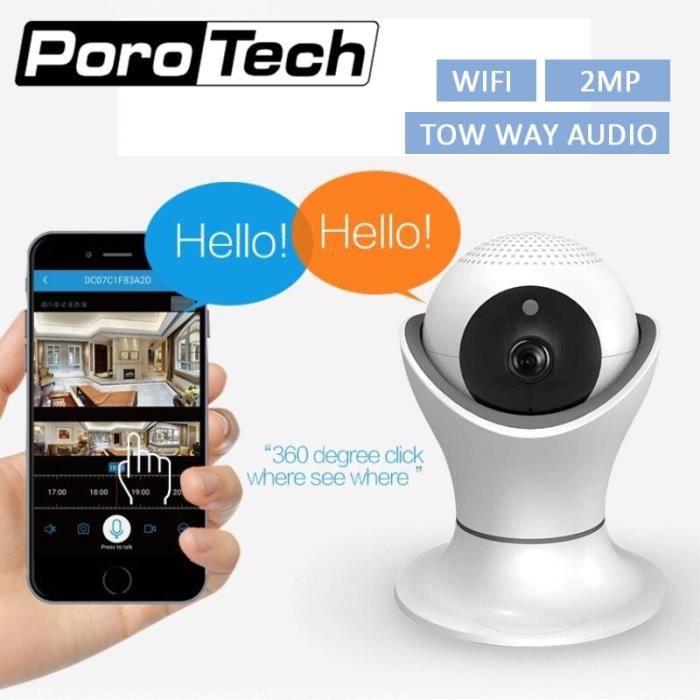 BABY PHONE - ECOUTE BEBE,Caméra de Surveillance vidéo EC39 Caméra IP Wifi HD 1080P, caméras de sécurité- Type with 32GB card