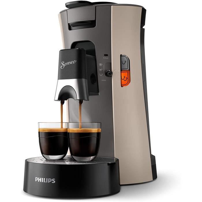 CSA240-31 Machine à Café à dosettes SENSEO Select Eco, Intensity Plus, Cream Plus, Fonction Memo - Nougat[96]