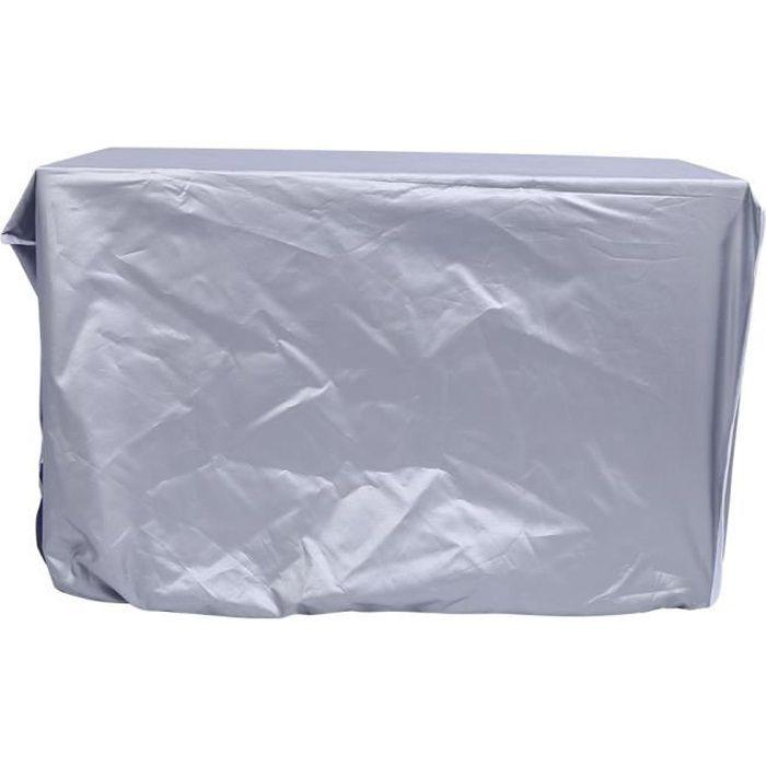 Housse de climatiseur extérieur imperméable anti-poussière anti-soleil anti-pluie pour la maison 80 * 28 * 54cm ABI