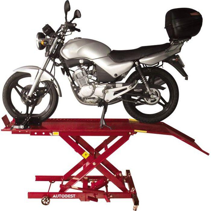 AUTOBEST Table de Levage Moto 365 kg