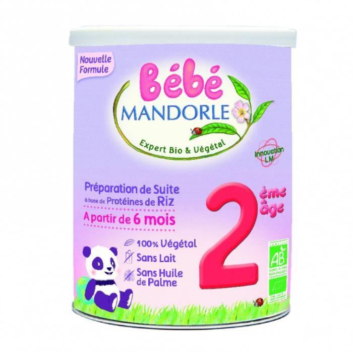 Bébé M Préparation infantile bébé 2ème âge 800gr - La Mandorle