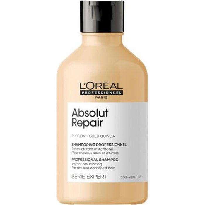 Absolut Repair Shampoing Réparateur Cheveux Abîmés L'Oréal 300ml