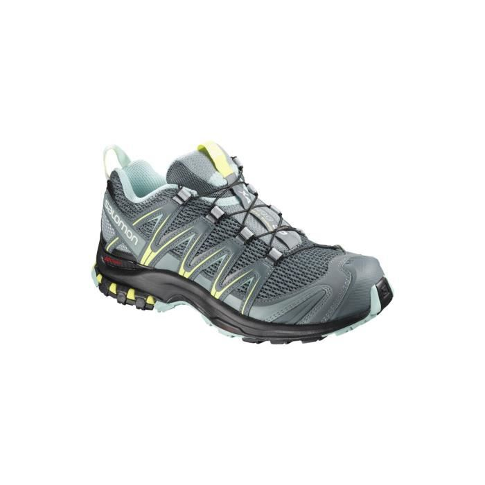 XA PRO 3D W - Chaussures randonnée femme Stormy Weather / Lead 40