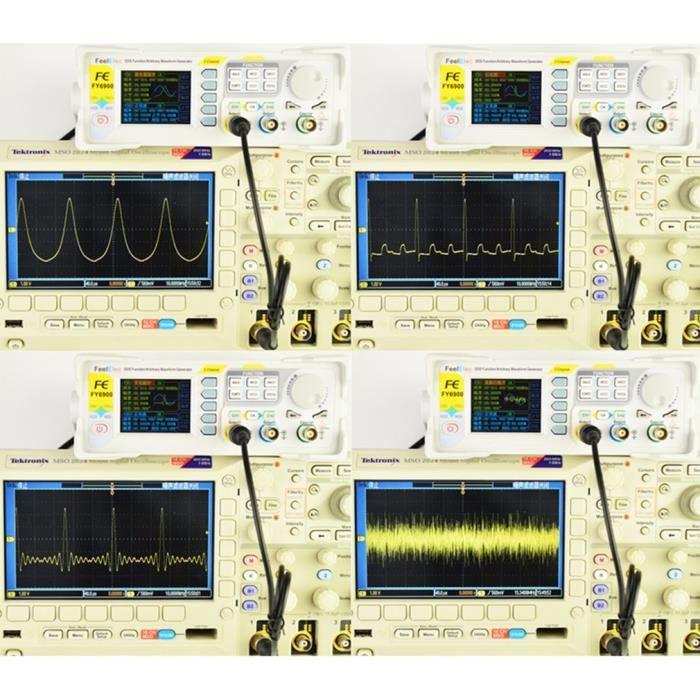 dds dual-channel digital function générateur de signaux arbitraires 250msa - s 15mhz 14bits fréquencemètre