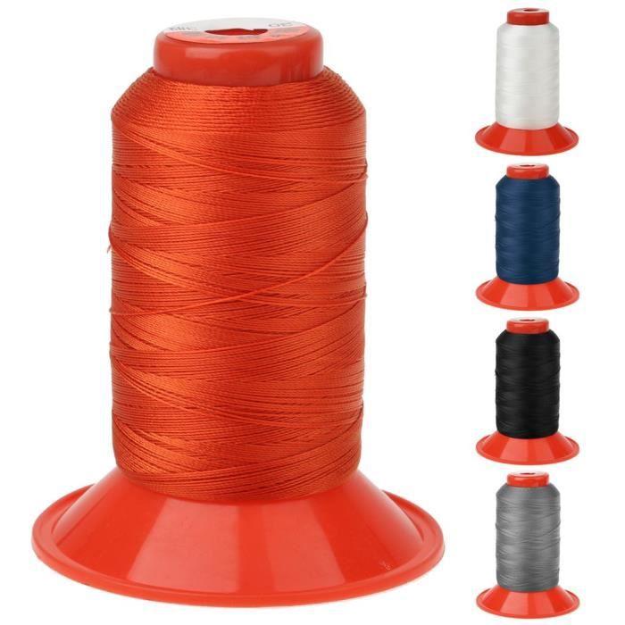 Longueur de 500 Mètres Couture de Fil En Nylon Solide pour Sac à Dos Tente - Orange