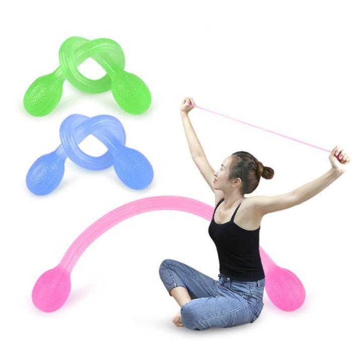 3 pièces corde Yoga bandes d'exercice femme bande de caoutchouc pour Lady GYM fille TAPIS DE SOL - TAPIS DE GYM - TAPIS DE YOGA