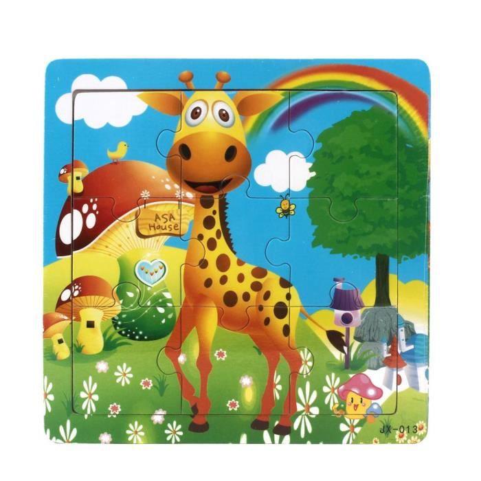 PUZZLE Jouets en bois de puzzle pour enfants pour l'éduca