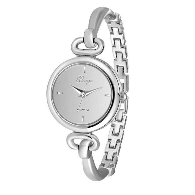 montre bracelet argent