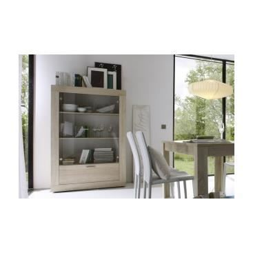 meuble vitrine design en verre pour collection achat vente vitrine argentier meuble. Black Bedroom Furniture Sets. Home Design Ideas