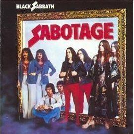 CD TECHNO - ELECTRO CD sabotage Black Sabbath