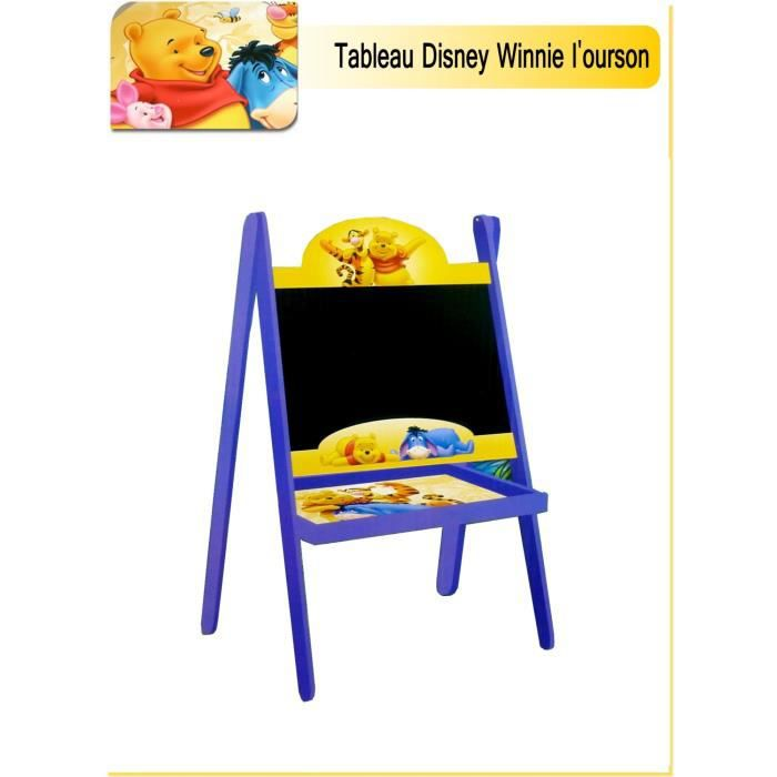 tableau ardoise disney winnie l 39 ourson achat vente tableau enfant soldes cdiscount. Black Bedroom Furniture Sets. Home Design Ideas