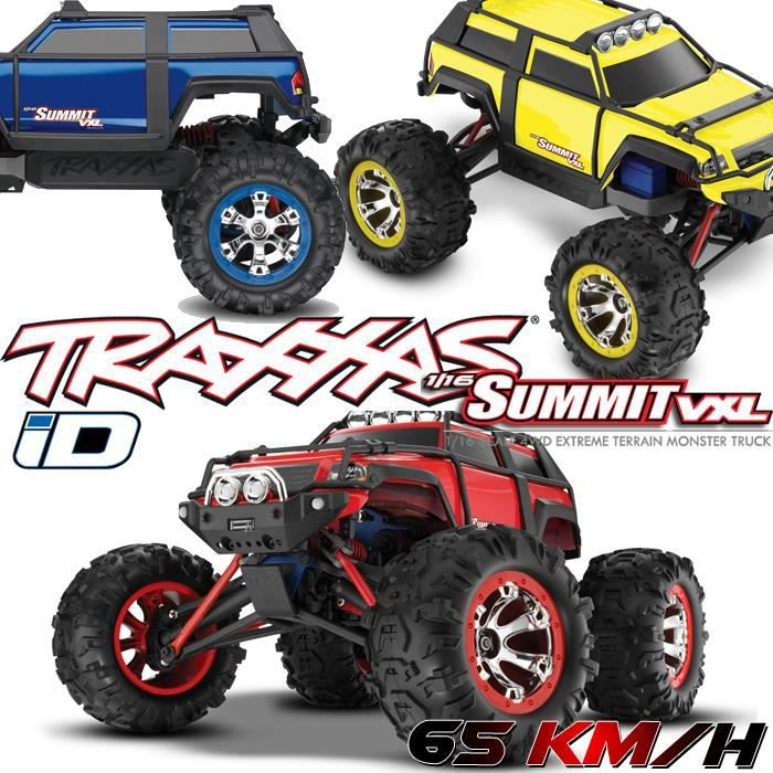 monster truck radiocommand summit 4x4 1 16 vxl. Black Bedroom Furniture Sets. Home Design Ideas