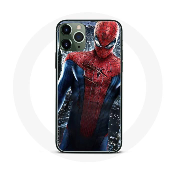 Coque iPhone 11 Pro Max Spider-Man Hero - Cdiscount Téléphonie
