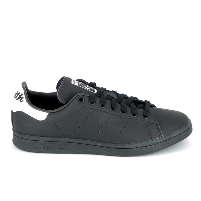 Basket mode - Sneakers ADIDAS Stan Smith Noir Blanc