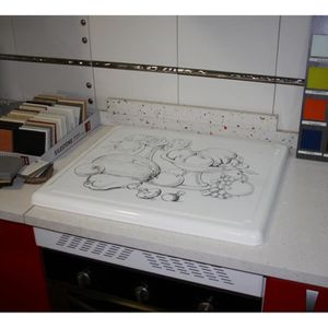 plaque de protection gaz achat vente plaque de. Black Bedroom Furniture Sets. Home Design Ideas