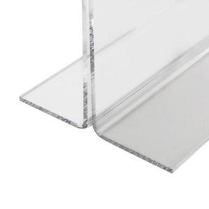 HMF 46922 Pr/ésentoir de Table Din A4 Acrylique Grandeur R/églable 21,5 x 32 x 10,5 cm Support pour Menus