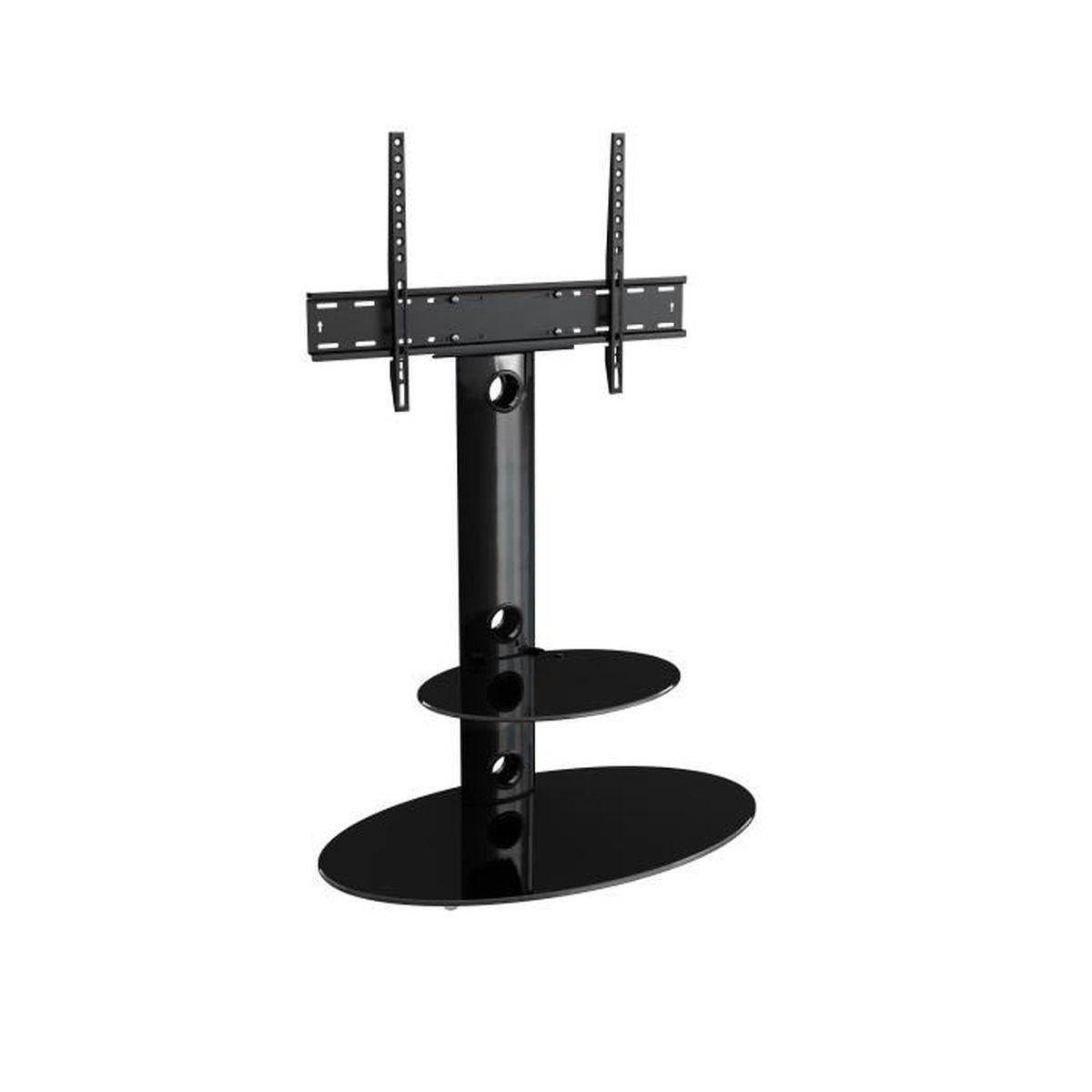 Hauteur Meuble Tele avf lugano meuble tv cantilever avec support intégré, écrans