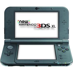 CONSOLE NEW 3DS XL New 3DS XL Noire Métallique