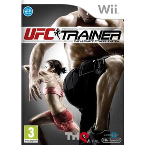 JEUX WII UFC PERSONAL TRAINER / Jeu console Wii