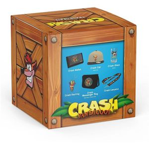 PACK DE GOODIES Coffret Crash Bandicoot