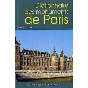 GUIDES DE FRANCE Dictionnaire des monuments de Paris