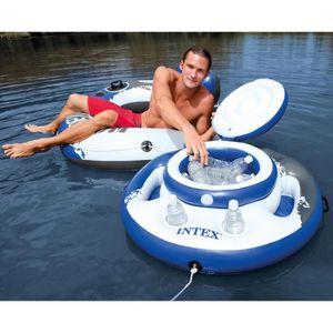 TOBOGGAN INTEX Glaciere Gonflable flottante pour piscine