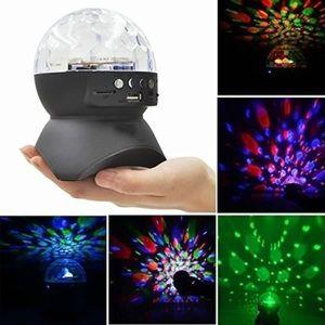 ENCEINTE NOMADE Mini Card LED lumières de la scène sans fil Blueto