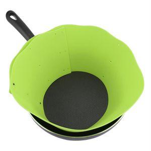 ANTI-PROJECTION  LIUX Silicone Protection de Pot Empêche la condens