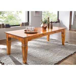 TABLE À MANGER SEULE Table à manger rectangulaire 220x100cm, 8 à 10 Per