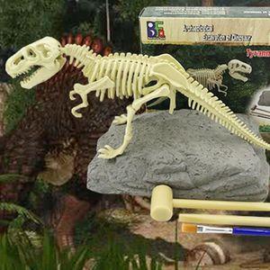 HISTOIRE - GEO Jouet d'excavation de Fouille de Dinosaure Traces