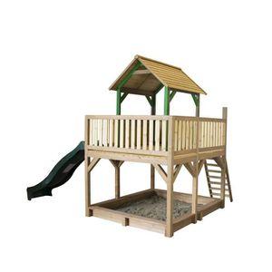 MAISONNETTE EXTÉRIEURE AXI maison enfant exterieur en bois Atka