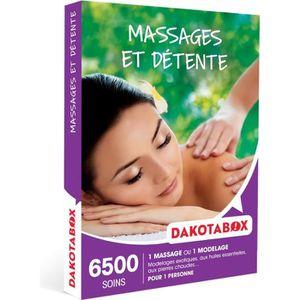 COFFRET SÉJOUR DAKOTABOX - Coffret Cadeau -Massages et détente -