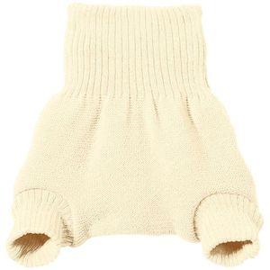 DISANA Culotte de protection grise en laine M/érinos 6-12 mois