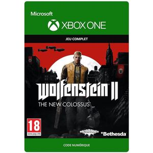 JEU XBOX ONE À TÉLÉCHARGER Wolfenstein II The New Colossus Jeu Xbox One à tél