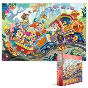 PUZZLE Eurographics Puzzle 35 Pc - Snow White (MO)