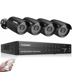 ENREGISTREUR VIDÉO Kit caméra de surveillance wifi extérieur/intérieu