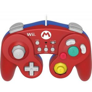MANETTE CONSOLE Spécial Smash Bros ? Manette rouge forme Game Cube